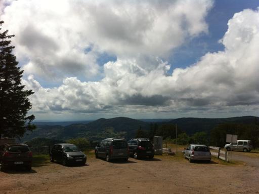 Uitzicht van de Petit Drumont.