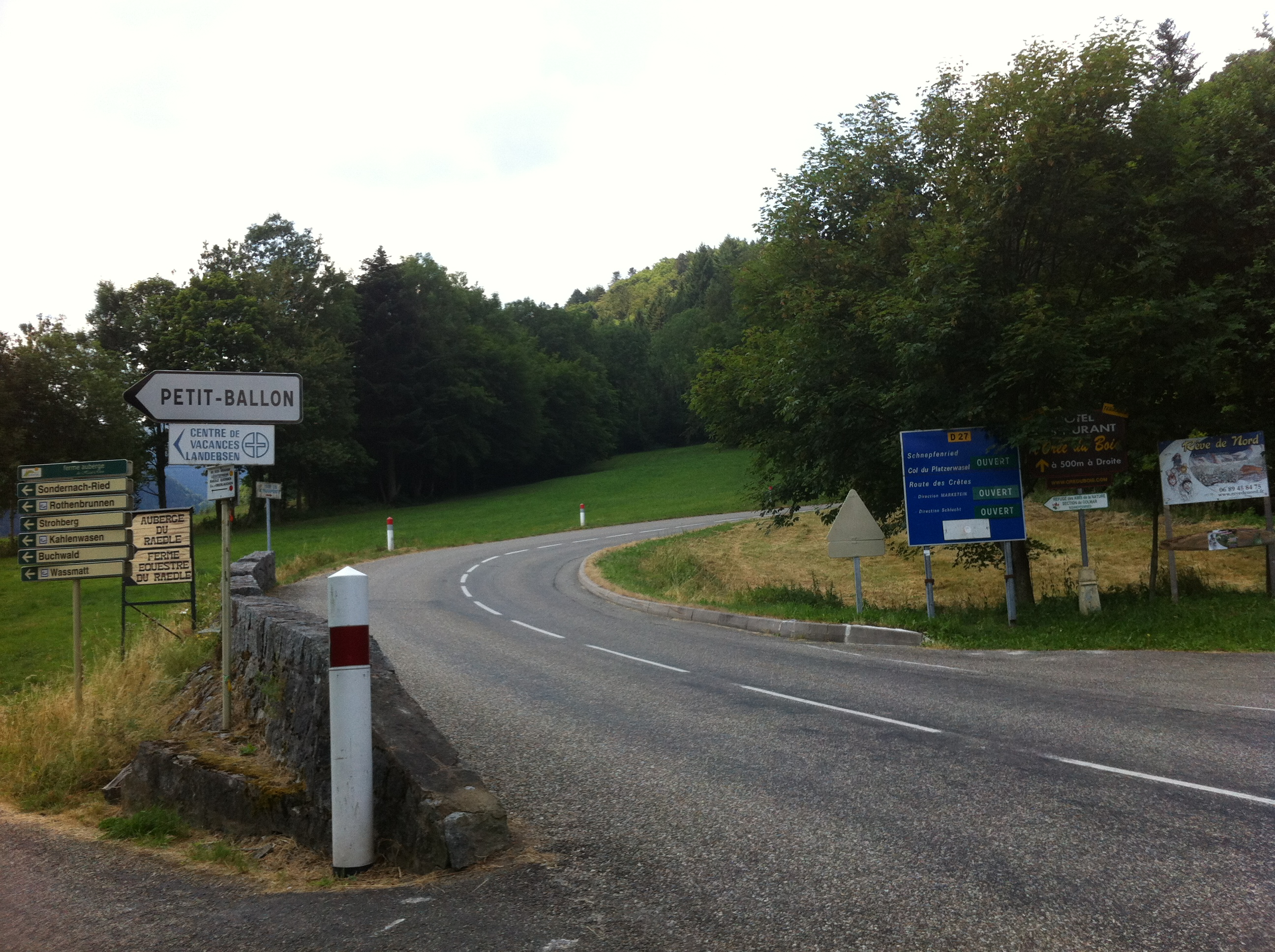 Start Col du Platzerwasel