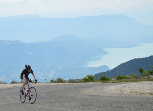 Laatste meters van de fraaie Grand-Colombier.