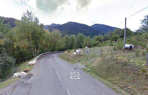 Oppassen in de afdaling van de Col de Pailhères.