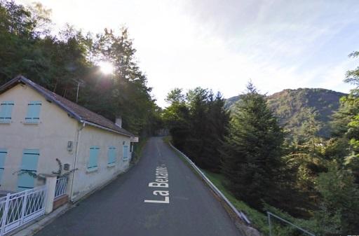 Vol aan de bak, direct bij de start van Plateau de Beille.