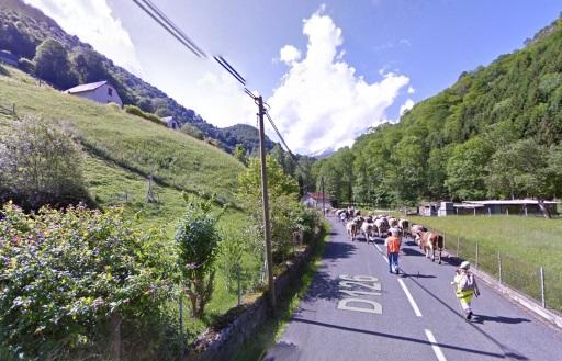 Op weg naar de Col du Soulor.