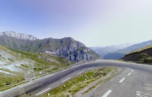 Onderweg naar de top van Col de Tentes.